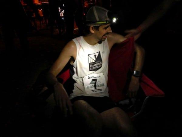 Matt Laye - 2014 Rocky Raccoon 100 Mile - finish