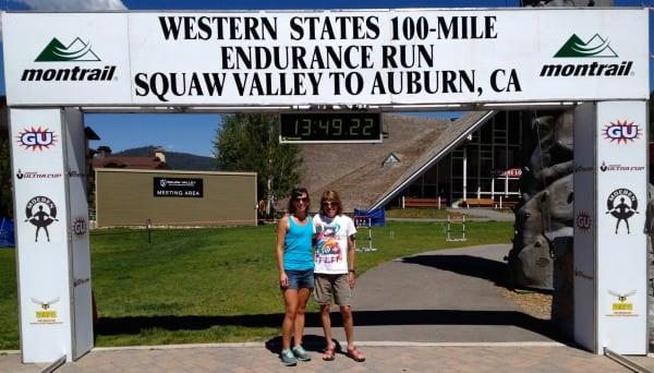 Ann Trason - Christina Williams - 2013 Western States 100