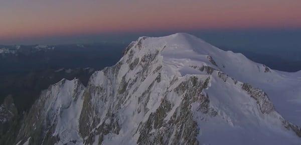 Mont Blanc - sunrise - Dejame Vivir