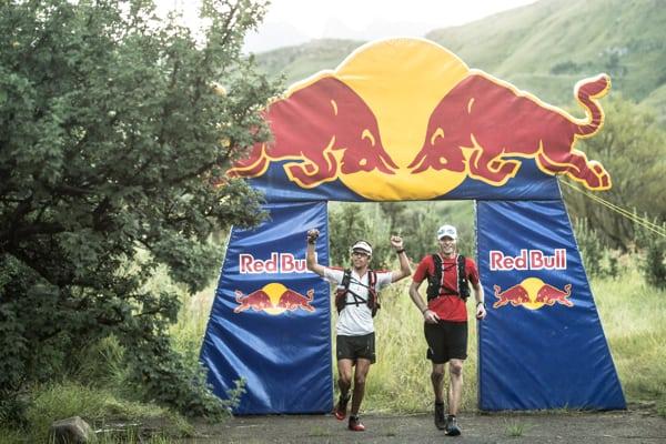 Grand Drakensburg Traverse - Ryan Sandes - Ryno Griesel - finish