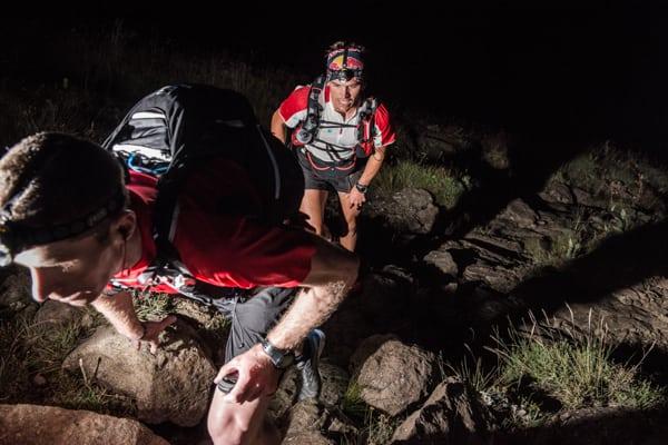 Ryan Sandes-Ryno Griesel-Grand Drakensberg Traverse-night