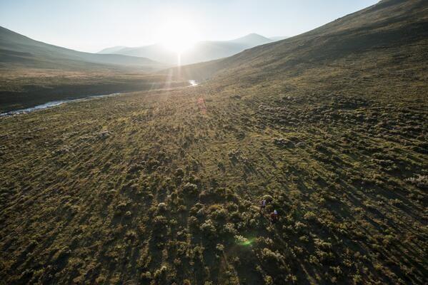 Ryan Sandes-Ryno Griesel-Grand Drakensberg Traverse-perspective