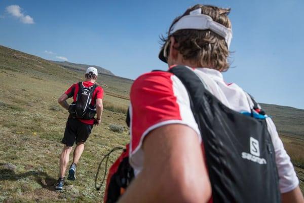 Ryan Sandes-Ryno Griesel-Grand Drakensberg Traverse-open ground
