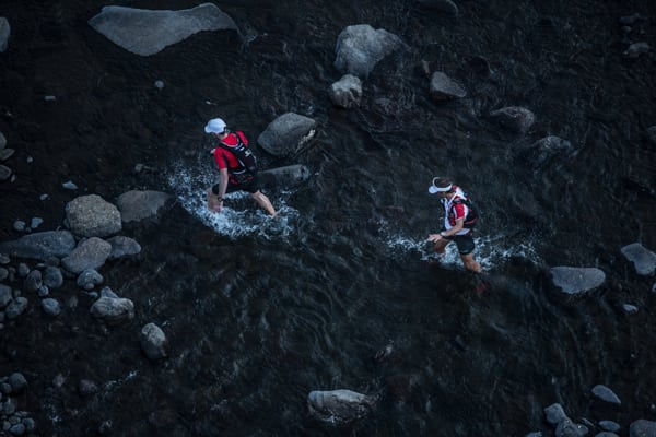 Ryan Sandes-Ryno Griesel-Grand Drakensberg Traverse-river