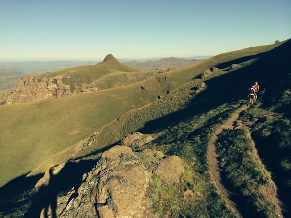 Ryan Sandes-Ryno Griesel-Grand Drakensberg Traverse-open expanse