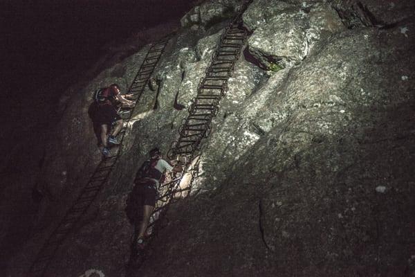 Ryan Sandes-Ryno Griesel-Grand Drakensberg Traverse-ladders
