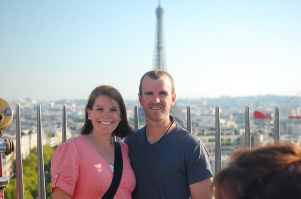 Matt and Molly Trappe - Eiffel Tower