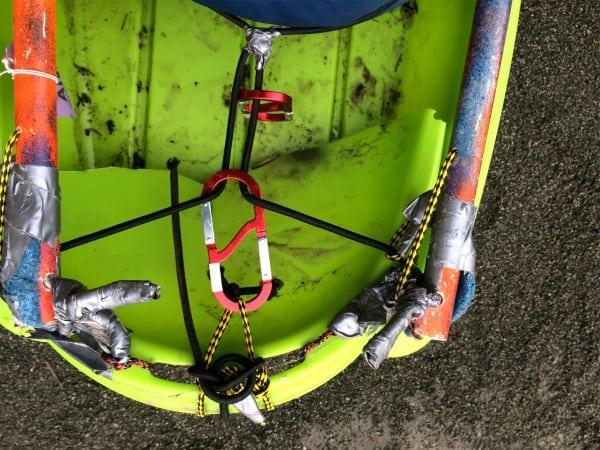 Dave Johnston - 2014 ITI 350 - sled fix