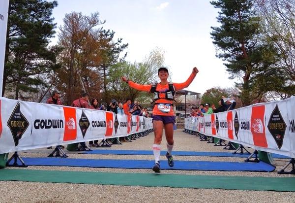 Fernanda Maciel - 2014 Ultra-Trail Mount Fuji - finish