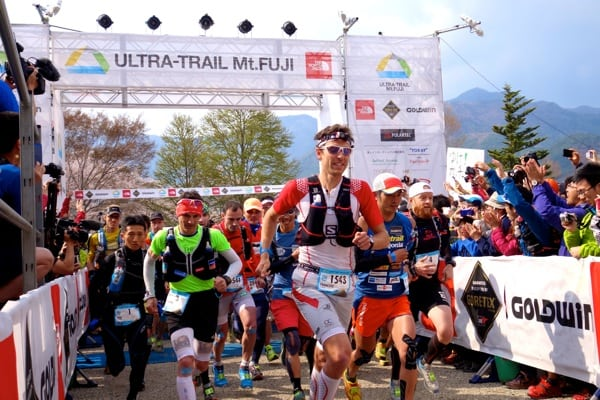 François D'haene - 2014 Ultra-Trail Mount Fuji
