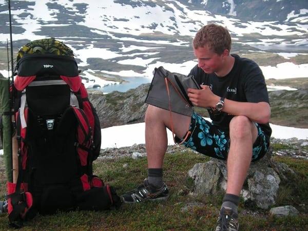 Thorbjørn Lundvigsen hiking