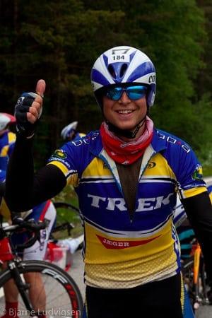 Thorbjørn Ludvigsen cycling