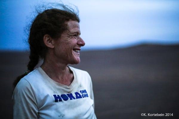 2014 Marathon des Sables - Nikki Kimball women's champion