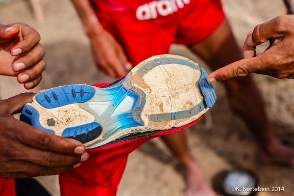 2014 Marathon des Sables - shoes