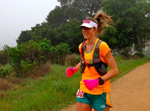 Stephanie Howe - 2014 Lake Sonoma 50 second place