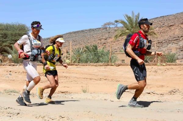 Carlos Sá, Christophe Le Saux, and Danny Kendall - 2014 Marathon des Sables Stage 4