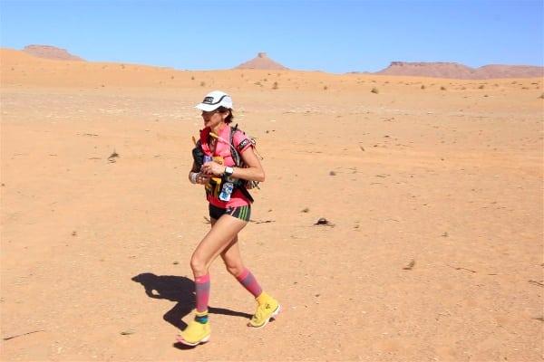 Laurence Klein - 204 Marathon des Sables Stage 3
