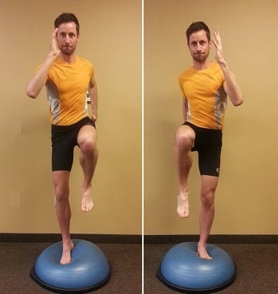 Dynamic Core Stability - 100-Up - ball