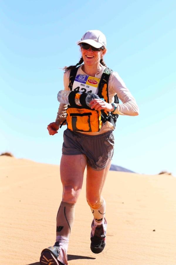 Nikki Kimball - 2014 Marathon des Sables Stage 3