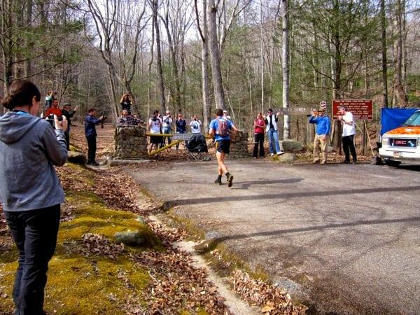 Jared Campbell - 2014 Barkley Marathons - Coming into the finish