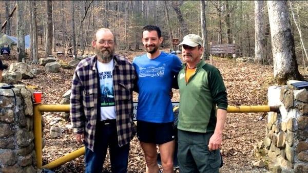 Jared Campbell - 2014 Barkley Marathons - Laz, Jared, Raw Dog - Finish