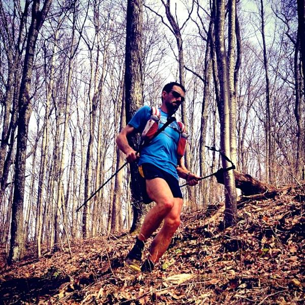 Jared Campbell - 2014 Barkley Marathons - Less than 1 mile from the finish