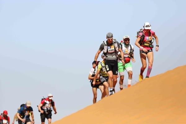 2014 Marathon des Sables - Stage 1 Erg Chebbi dunes