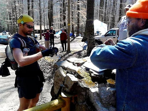 Jared Campbell - 2014 Barkley Marathons - About to leave for Lap 5