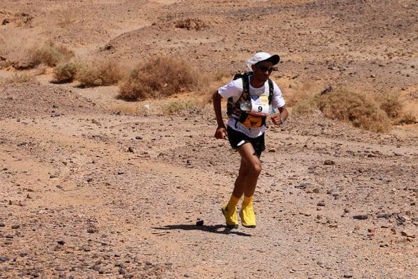 2014 Marathon des Sables - Abdelkader El Mouaziz - Stage 1