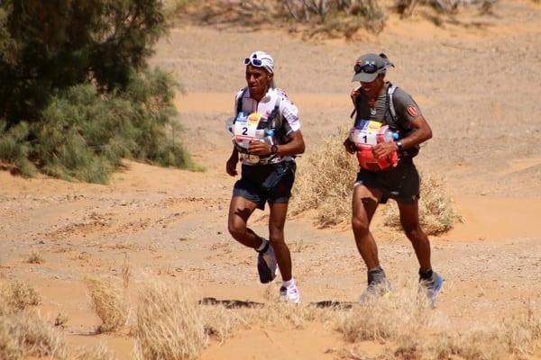 2014 Marathon des Sables - Rachid El Morabity et Mohamad Ahansal
