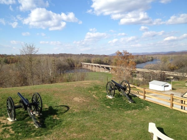 Potomac River from Doubleday Hill Monument