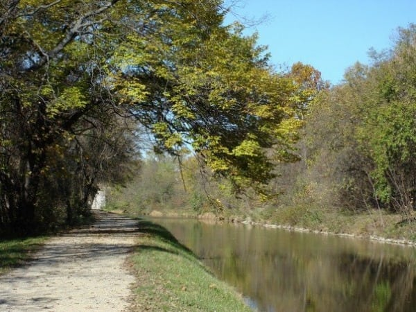 The C&O Canal and Towpath.