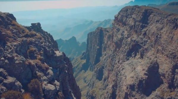 Drakensberg Grand Traverse - scenery during FKT