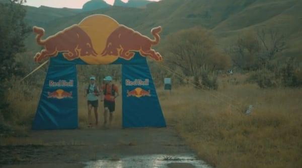 Drakensberg - Ryan and Ryno's finish