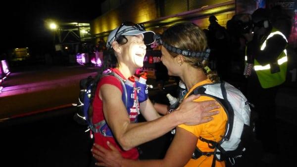 Joelle Vaught and Fernanda Maciel - 2014 The North Face 100k Australia