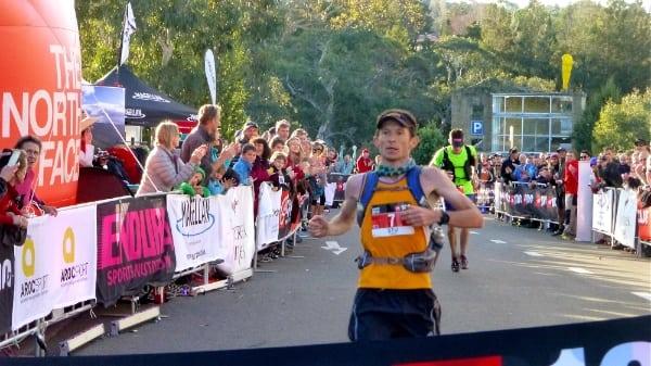 Stu Gibson champion - 2014 The North Face 100k Australia