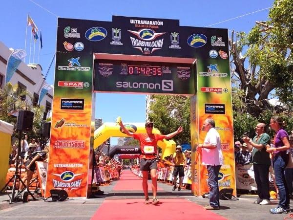 Dakota Jones 2 - 2014 Transvulcania Ultramarathon