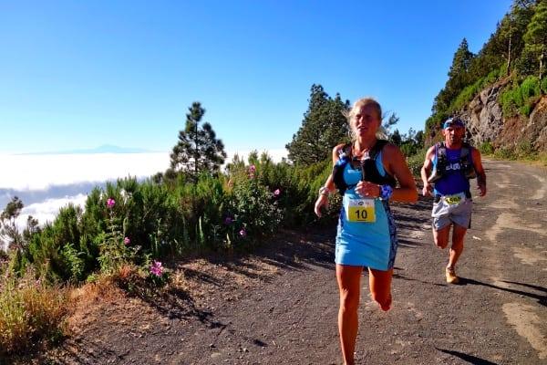 Anna Frost - 2014 Transvulcania Ultramarathon champion