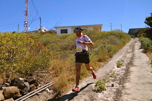 Kilian Jornet - 2014 Transvulcania Ultramarathon second place