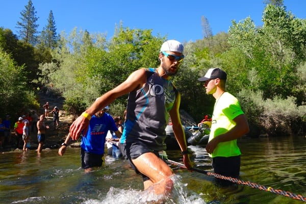 Dylan Bowman - 2014 Western States 100 - Rucky Chucky