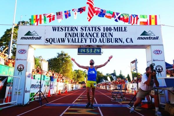 Rob Krar - 2014 Western States 100 - Finish