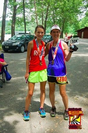 Kaci Lickteig and her mom Lori