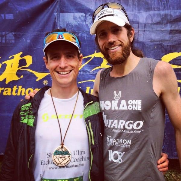 Ian Sharman - Mike Wardian - 2014 Big Sur Marathon