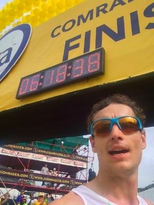 Ian Sharman - 2014 Comrades Marathon