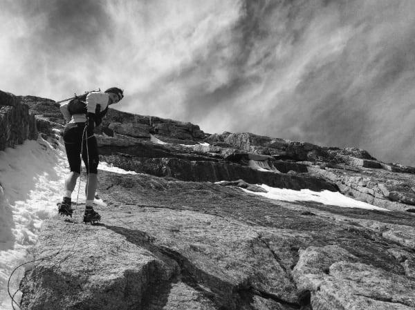 Sébastien Chaigneau - North Face of Longs Peak rappelling (10)