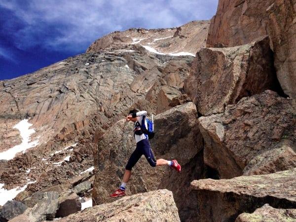 Sébastien Chaigneau - below the Homestretch on Longs Peak (6)