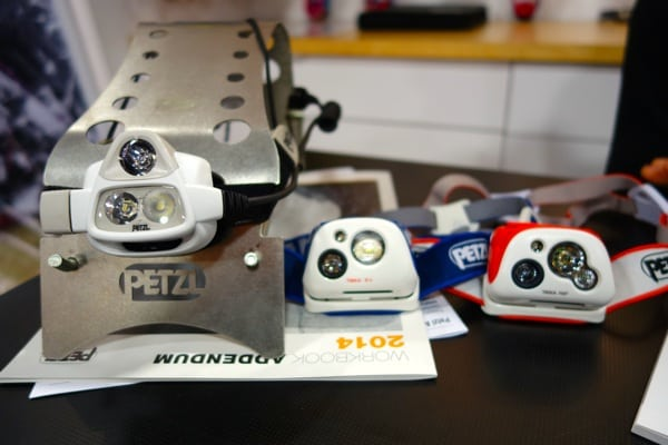 Petzl NAO, Tikka RXP, Tikka R+