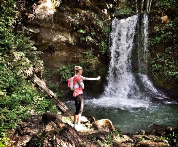 Stephanie Howe - Rogue River training run