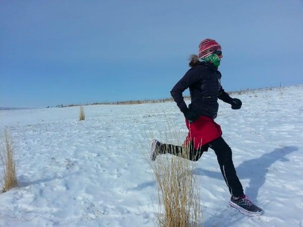 Nikki Kimball - winter training