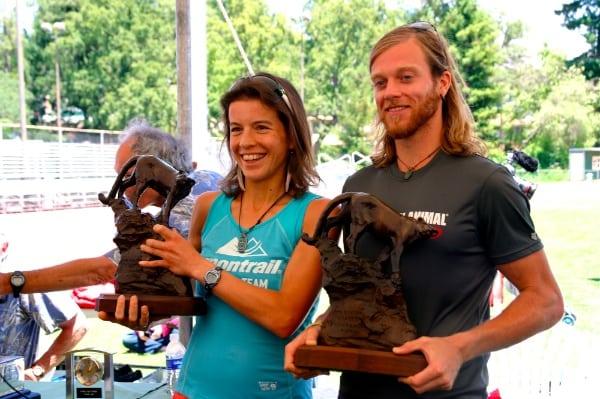 Ellie Greenwood - Timothy Olson - 2012 Western States champions